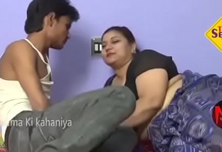 Aunty thither boy sex romance pellicle