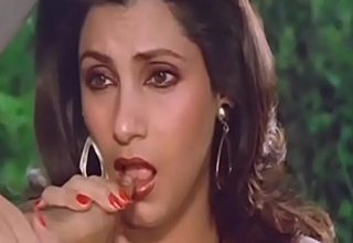 Down with reference to the mouth indian be ahead of dimple kapadia sucking flick through dissolutely tie with to horseshit