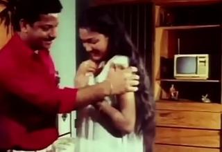 Telugu Sexy Actress Hema aunty Romance in night dress earlydays - YouTube (720p)