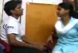 New Indian Village Girl Caught On Camera While Romancing With Boyfriend At