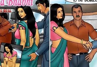 Savita Bhabhi Episode 76 - Closing slay rub elbows with Deal