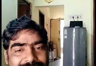 Indian uncle showing dick to his wife