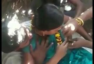 Desi Gandbang with Randi Boobs Pressing