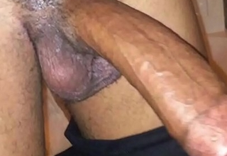 Indian Swinger Get hitched warm Big Black Cock