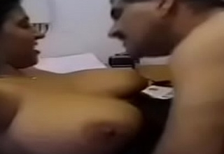 hot indian working aunty fucking her boss in office