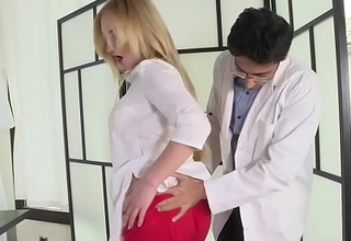 Doctor fucks powerless patient's wife