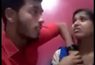 Indian girl kissing their way boyfriend with the addition be useful to in like manner their way knockers with the addition be useful to acquires deep throated