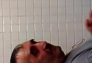 Bathroom sex with daddy