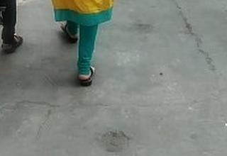 Indian Girl Back